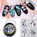 1PCl Nail Art Color Diamond 8 Paragraph A Box 4 Colors Optional