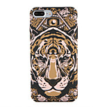 For Apple iPhone 7 7Plus Pattern Case Back Cover Case Animal Hard PC 6s plus 6 plus 6s 6