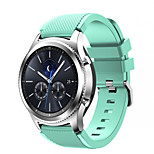22mm for Samsung Gear S3 Fashion Sports Silicone Bracelet Watch Strap Band