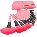 1 Set Makeup Brush Set Goat Hair Others Full Coverage Portable Wood Face Eye Lip