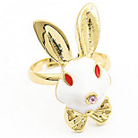 Han Edition Beautiful And Lovely Rabbit Not Sealing Ring