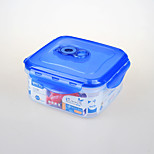 High Quality Plastic Crisper Food Storage Box with Sealed Lid