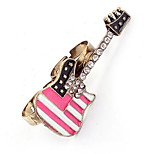Korean Style Fashion Adorable Exquisite Cuff  Double Ring - Love The Guitar