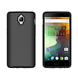 For One Plus 3 3T Case Cover Shockproof Back Cover Solid Color Hard PC One Plus X