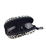 Eyeglasses Cleaner for Travel Storage PU Leather Plastic