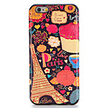 For Apple iPhone 7 7Plus Case Cover Pattern Back Cover Case Eiffel Tower Soft TPU 6s Plus 6 Plus 6s 6