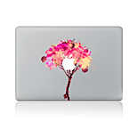 For MacBook Air 11 13/Pro13 15/Pro With Retina13 15/MacBook12 Scrawl Pink Tree Decorative Skin Sticker