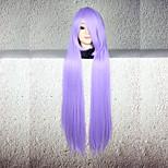 Perucas de Cosplay Fantasias Fantasias Longas Reto Anime Perucas de Cosplay 80 CM Fibra Resistente ao Calor