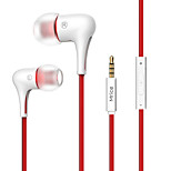 Mrice E300A For Mobile Phone Cellphone Computer   In-Ear  Wired TPE 3.5mm With Microphone Volume Control  Noise-Cancelling