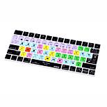 Xskn® final cut pro x 10.3 piel de teclado de silicona para teclado mágico versión 2015 (us / eu layout)