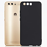 ASLING For Huawei P10 Ultra-thin Frosted Case Back Cover Case Solid Color Soft TPU
