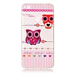 For Huawei P8 Lite (2017) P10 Lite Case Cover Owl Pattern HD Painted TPU Material IMD Process Phone Case P8 P9 Lite P10