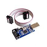 5V / 3.3V USBASP Programmer Adapter w 10 Pin Cable ATMEGA8 ATMEGA128
