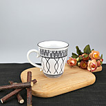 250ml Tribal Patern High Temperature Porcelain Mug