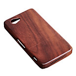 CORNMI For Sony Xperia Z1Mini D5503 Z1 Compact Z1Min Rosewood Walnut Wood Hard Wooden Back Cover Shell