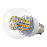 4.5W B22 Bayonet LED Ball Bulb 12-24V 36V 48V 69 SMD 5730 420Lm Warm White/Cool White AC/DC10-60V (1 Piece)
