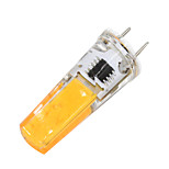 3W G8 Luces LED de Doble Pin T 1 COB 320-350 lm Blanco Cálido Regulable 110-120 V 1 pieza