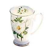 220ml Ceramics Milk Coffee Cup With Cover