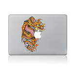 For MacBook Air 11 13/Pro13 15/Pro With Retina13 15/MacBook12 Golden Dragon Decorative Skin Sticker