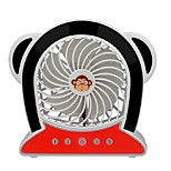 Of Monkey Mini USB Fan Super Rechargeable Lithium Batteries Simple Portable New Fan