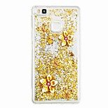 For Huawei P9 Lite Huawei P8 Lite Flowing Liquid Pattern Case Back Cover Case Butterfly Soft TPU