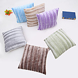 1 pcs   Six color candy color  Pillow Case