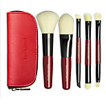 Blush Brush Eyeshadow Brush Lip Brush Powder Brush Foundation Brush Synthetic Hair Professional Travel Full Coverage Eco-friendly Portable