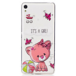 For Sony Xperia XA M2 Case Cover Cute Cat Pattern Painted High Penetration TPU Material IMD Process Soft Case Phone Case