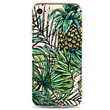 For Apple iPhone 7 7 Plus 6S 6 Plus Case Cover Pineapple Pattern Painted High Penetration TPU Material Soft Case Phone Case
