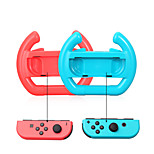 Wheel Steering Case For Switch Joy-Con Controller 2pcs (Set of 2) Blue and Red