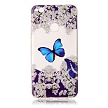For Huawei P8 Lite (2017) P10 Lite Case Cover Butterfly Pattern HD Painted TPU Material IMD Process Phone Case P8 P9 Lite P10