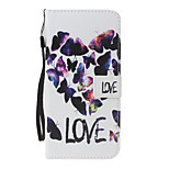 For Huawei P10 Lite  P8 Lite(2017) Case Cover Card Holder Wallet with Stand Flip Pattern Full Body Case Butterfly Hard PU Leather for P8 Lite P9 Lite