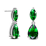 Silver Plated Earring Stud Earrings Wedding / Party / Daily / Casual 2pcs
