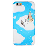 For Apple iPhone 7 7Plus Case Cover Pattern Back Cover Case Cartoon Soft TPU 6s Plus  6 Plus  6s  6