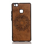 For Huawei P10 Plus P10 Embossed Case Back Cover Case Mandala Hard PU Leather for P9 Lite P8 Lite (2017) Mate9