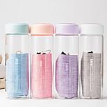 2Pcs Transparent Drinkware 300 ml Portable Glass Water Vacuum Cup Random cClor
