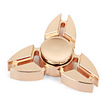 Fidget Spinner Hand Spinner Toys Tri-Spinner Brass EDCStress and Anxiety Relief Office Desk Toys Relieves ADD, ADHD, Anxiety, Autism for