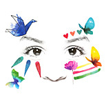 1Pcs  Child Face Sticker Stage Makeup Stickers Performing Arts Temporary Tattoo Sticker