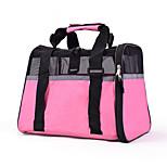 Cat Dog Carrier & Travel Backpack Sling Bag Pet Carrier Portable Breathable Solid Blushing Pink Black