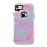 For iPhone 7 7 Plus Case Cover Shockproof Pattern Back Cover Case Marble Hard PC for 6s 6 Plus 6s 6 SE 5S 5