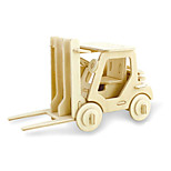 Jigsaw Puzzles 3D Puzzles Building Blocks DIY Toys Forklift Wood Model & Building Toy