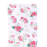 For Apple iPad Pro 9.7'' iPad 5 iPad 6 Case Cover Flower Pattern Card Stent PU Material Flat Protection Shell