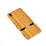 Cornmi for sony xperia z3 capa caso brandnew crânio madeira difícil