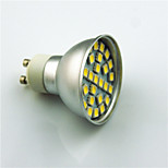 3W GU10 LED Spotlight 29 SMD 5050 350 lm Warm White Cool White Decorative AC220 V 1 pcs