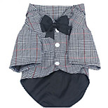 Dog Clothes/Jumpsuit Dog Clothes Summer Spring/Fall Plaid/Check Fashion Casual/Daily