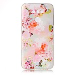 For LG G6 Case Cover Flower Pattern Painted Relief High Penetration TPU Material Phone Case