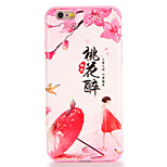 For Apple iPhone 7 7Plus Case Cover Pattern Back Cover Case Cartoon Word / Phrase Flower Soft TPU 6s Plus 6 Plus 6s 6