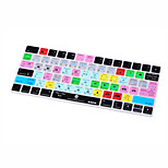 Xskn® premiere pro cc atajo piel de teclado de silicona para el teclado mágico versión 2015 (us / eu layout)