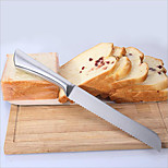 Baking tools Bread Knife Hollow Steel Handle 8 inch Dental Knife Stainless steel Cake Knife Sawtooth Knife 1pc