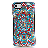 For Apple iPhone7 7Plus Case Cover Pattern Back Cover Case Mandala Soft TPU 6s Plus  6 Plus  6s 6